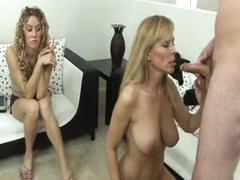 Hotty joins her mom and boyfriend in fuck movie