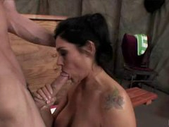 Dick Starved Raylene Receives Her Throat Busy Sucking A Hard Man Lollipop