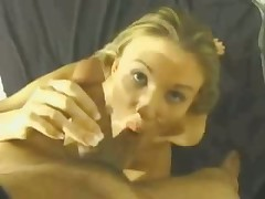 This whore's lengthy skilful tongue gives guy with camera in his hands lots of incredible hot feelings.