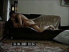 Short-haired Russian mommy decided to try having sex with the fellow half her age. She didn't regret it for a second, this fellow is a freak like that honey is and is fine with making home sextapes.
