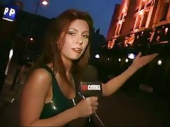 This reporter is a sexy dark brown and is exploring the sexuality of the older couples. As this babe interviews her subjects this babe begins feeling nice-looking concupiscent and it begins to reflect in her work and her costume this babe goes to shopping mall for her super hero costume and a couple of other sexy outfits.