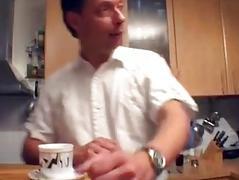 Sexy German MILF acquires taken in the kitchen